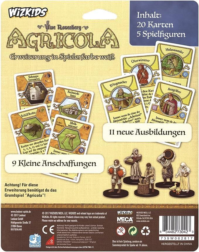 Lookout Games Agricola Minis - Juego de mesa (contenido en alemán) , color/modelo surtido: Amazon.es: Juguetes y juegos