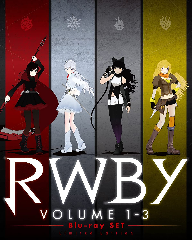 RWBY VOLUME 1-3 Blu-ray SET<初回仕様版> B071HX3P1T