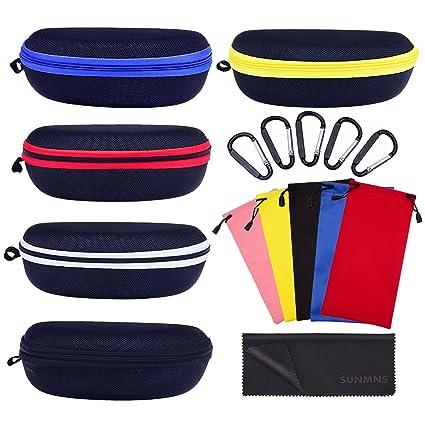 887e2afa1a sunmns Protector duro caso bolsa de almacenamiento de transporte viaje para  gafas, gafas de sol