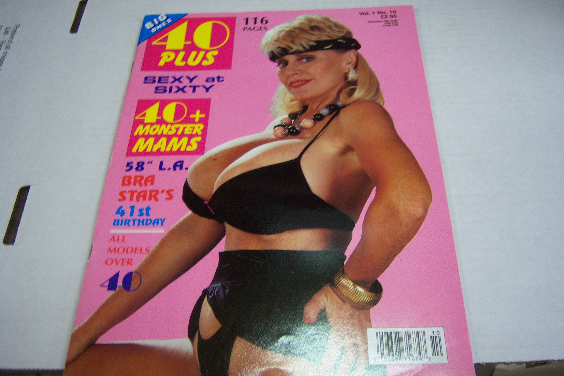 40 Plus Adult Busty Magazine Titanic Toni Patty Plenty Vol 1