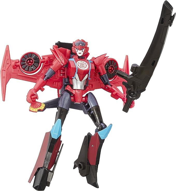Transformers: Robots en Disfraz Guerrero Clase Windblade: Amazon ...