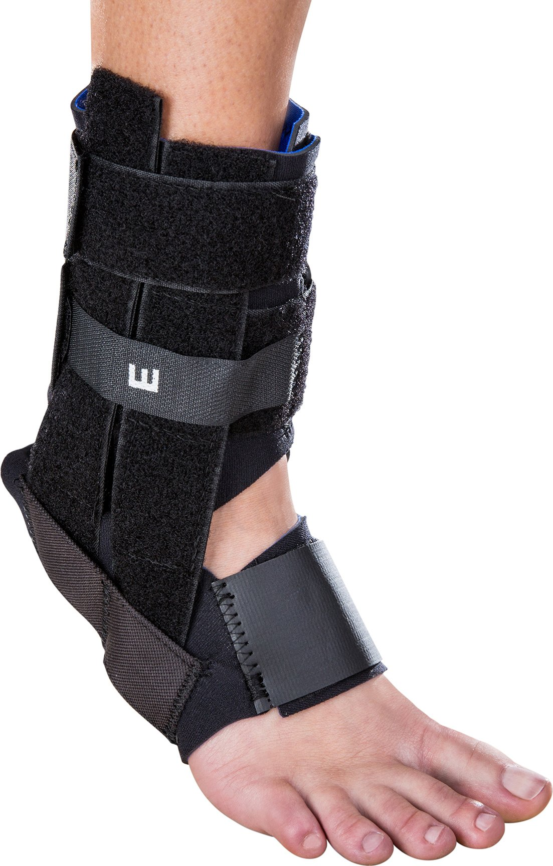 DonJoy RocketSoc Ankle Support Brace: Neoprene, Right Foot, Small