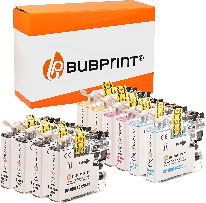 10 Bubprint Druckerpatronen Kompatibel Für Brother Lc 223 Lc 225 Lc 227 Xl Für Dcp J4120dw Dcp J562dw Mfc J4420dw Mfc J4620dw Mfc J4625dw Mfc J480dw Mfc J5320dw Mfc J5620dw Mfc J880dw Multipack Amazon De