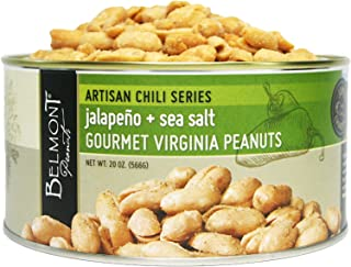 product image for Belmont Peanuts Artisan Jalapeno & Sea Salt Gourmet Virginia Peanuts, 20oz Tin (566g)