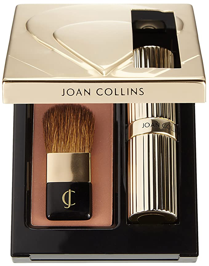 Joan Collins Timeless Beauty Compact Duo Lipstick /& Powder Evelyn 6g 3.5