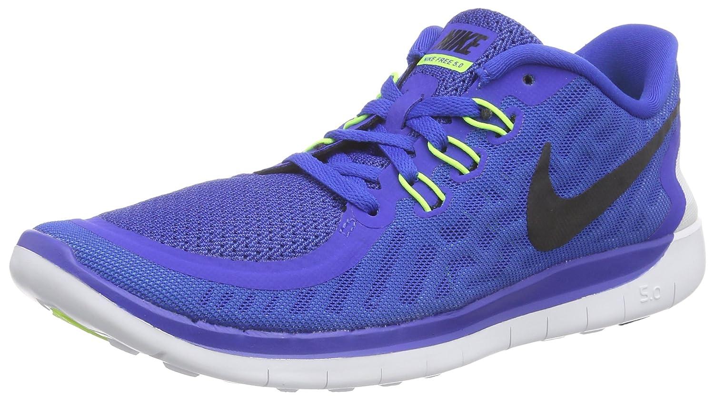 Nike Boys Free 5.0+ Running Shoes Game Royal