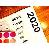 Large 2020 Bubble Wrap Poster Sized Wall Calendar