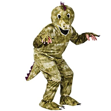 Dinosaur Mascot - Adult Costume Adult - One Size  sc 1 st  Amazon UK & Dinosaur Mascot - Adult Costume Adult - One Size: Amazon.co.uk: Clothing