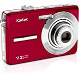 Kodak Easyshare M763 7.2 MP Digital Camera with 3xOptical Zoom (Red)