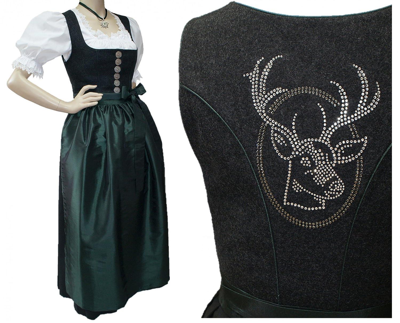 Kleidung & Accessoires Dirndl & Kleider 16 NEU rot Gr DIRNDL