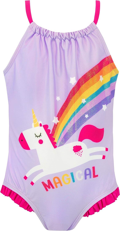 Harry Bear Girls Unicorn Swimsuit