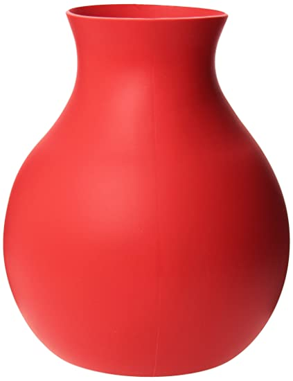 Amazon Rubber Vase Red Large Menu Rubber Vase Kitchen Dining