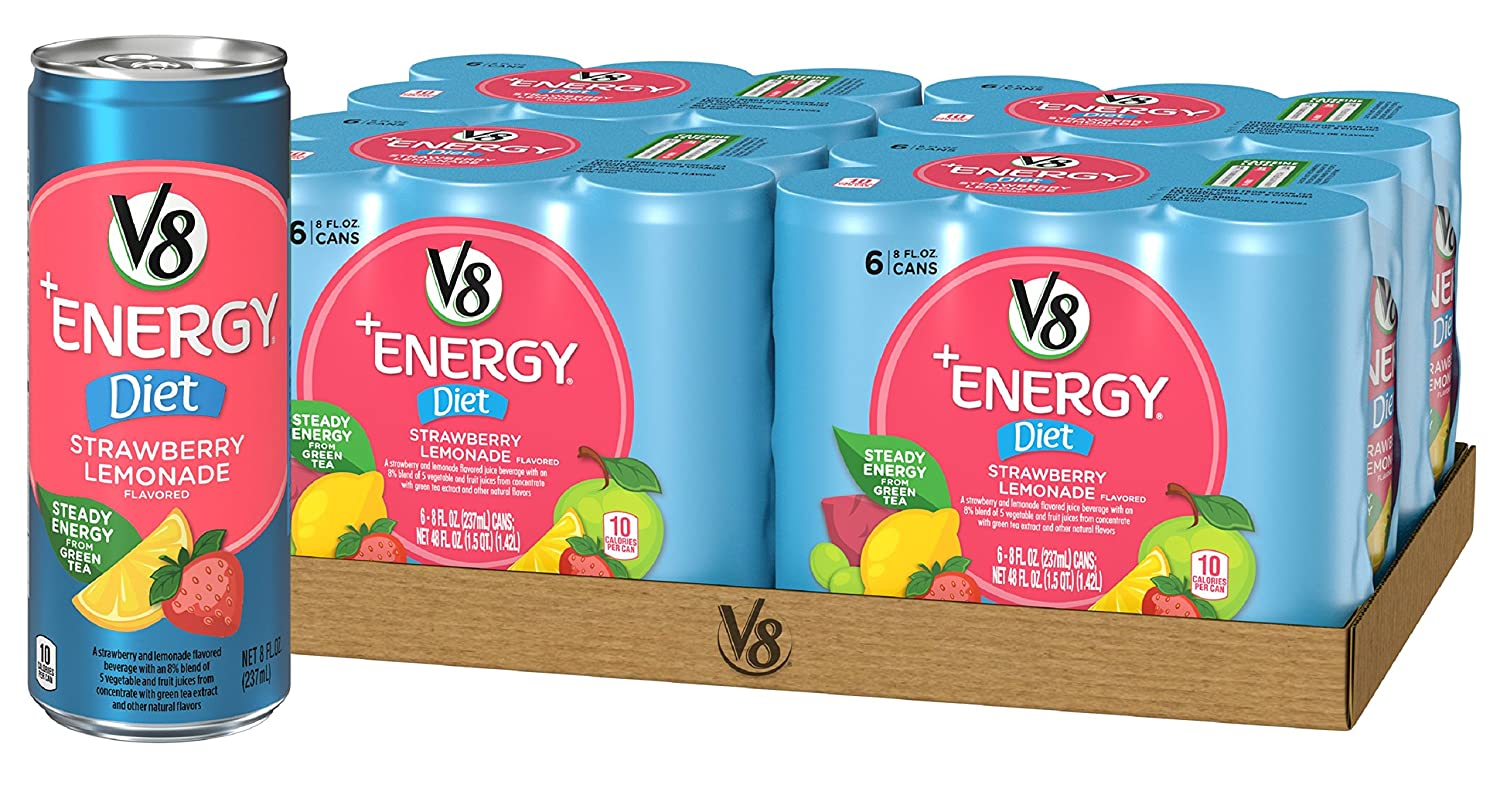 V8 Energy Review >> Amazon Com V8 Energy Healthy Energy Drink Natural Energy From