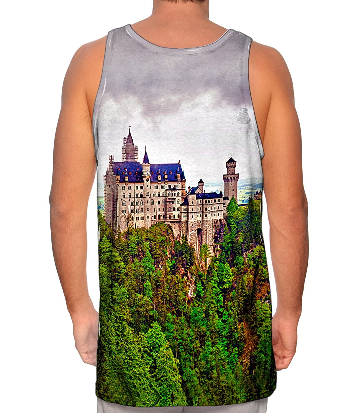 Neuschwanstein Castle Yizzam TShirt Mens Tank Top