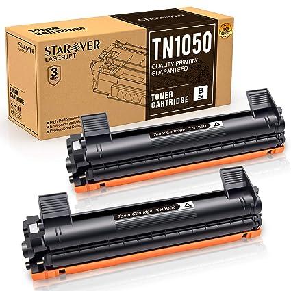STAROVER 2x TN1050 TN-1050 Cartucho De Tóner Negro Compatible Para ...
