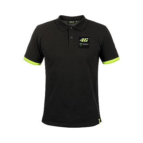 2018 Vr46 Valentino Rossi 46 Motogp Herren Polo Shirt Tee Monster