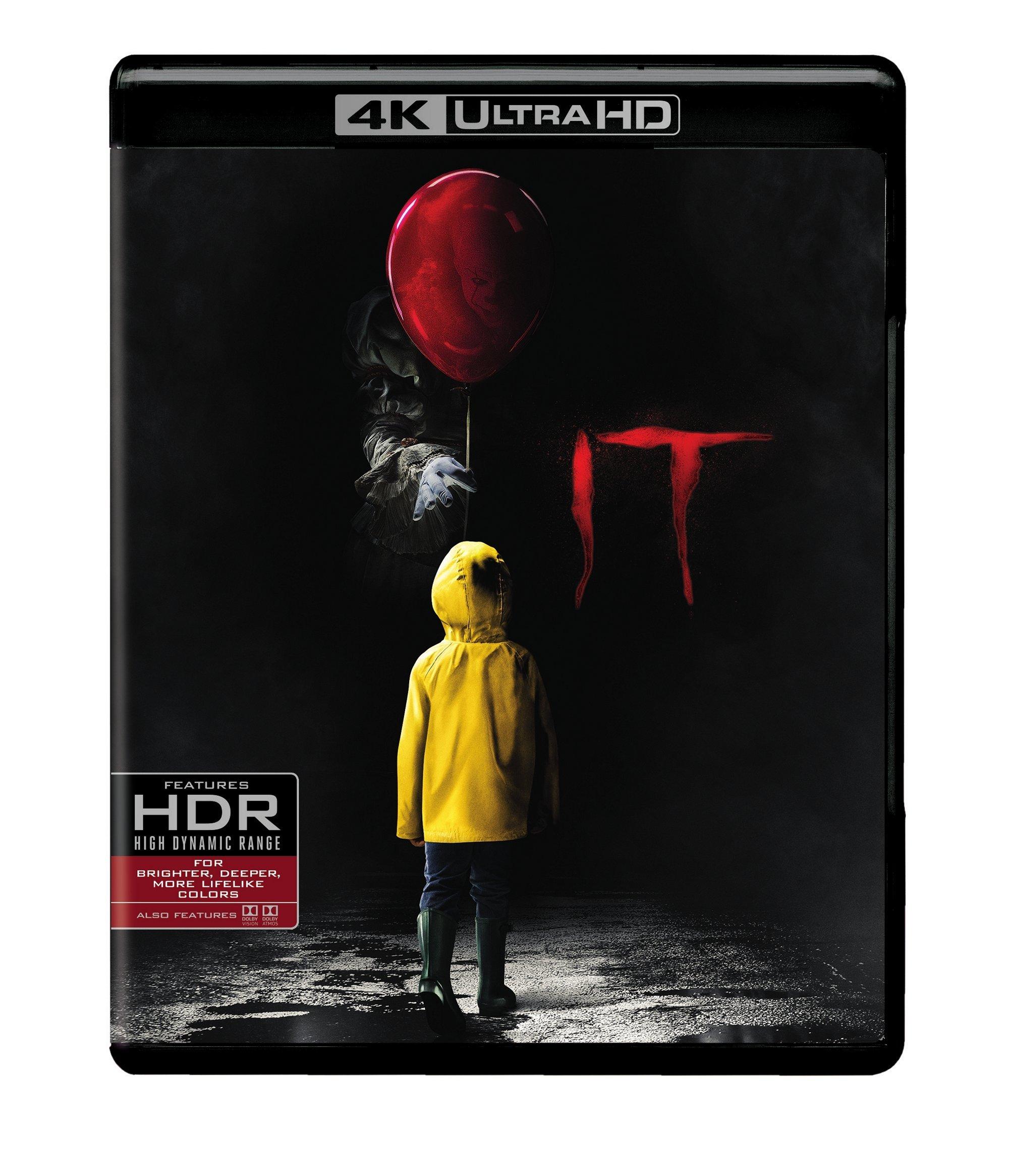 It (4K Ultra HD + Blu-ray) (4K Ultra HD) by Warner Bros.