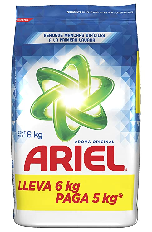 00f5ea005eef6 Ariel Detergente en Polvo Aroma Original