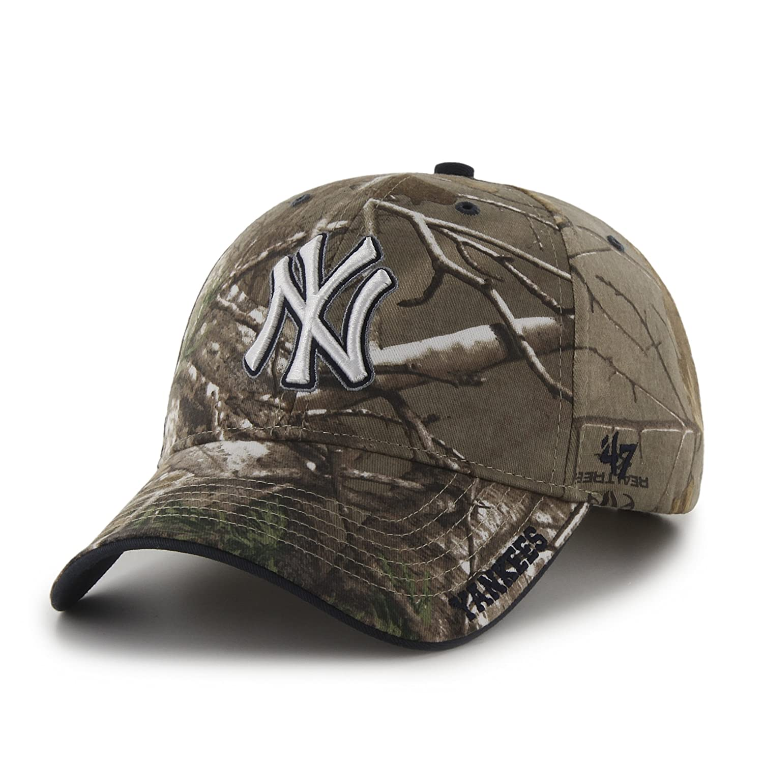 da59e56bfd959 ... best amazon mlb atlanta braves 47 frost mvp camo adjustable hat one  size fits most realtree ...