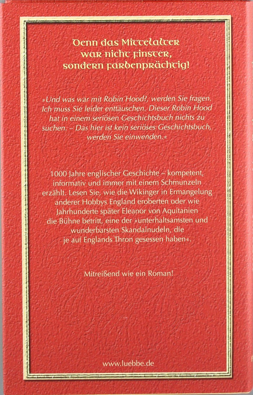 Von Ratlosen Und Löwenherzen: Eine Kurzweilige, Aber Nützliche Geschichte  Des Englischen Mittelalters: Amazon.de: Rebecca Gablé: Bücher