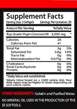 Amazon.com: Metabolismo Advantage – Aceite de Coco Virgen ...