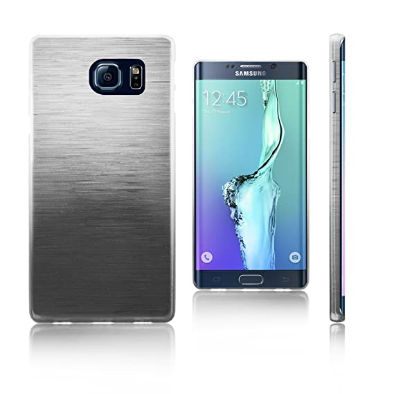 a464c18308e Xcessor Transition de Color Funda Carcasa para Samsung Galaxy S6 Edge+ SM-G928A.  Flexible TPU Gel Gradient Hilo De Seda Textura.