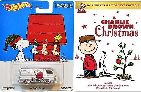 a charlie brown christmas dvd hot wheels snoopy charlie brown christmas deluxe edition - Charlie Brown Christmas Movie