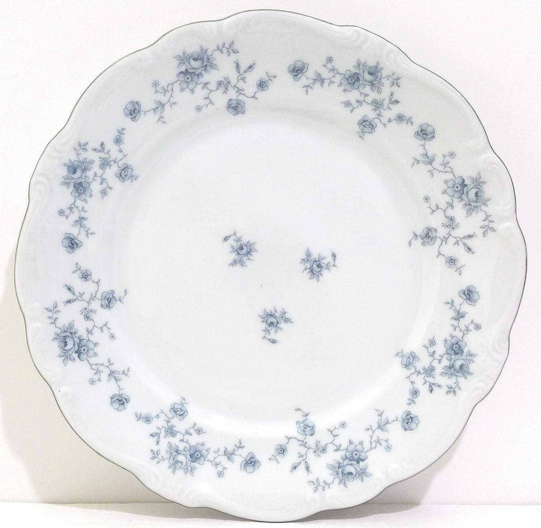 haviland blue garland Johann Haviland Blue Garland  Dinner plates Blue garland Mother/'s day China Galore Set of  4,Like new