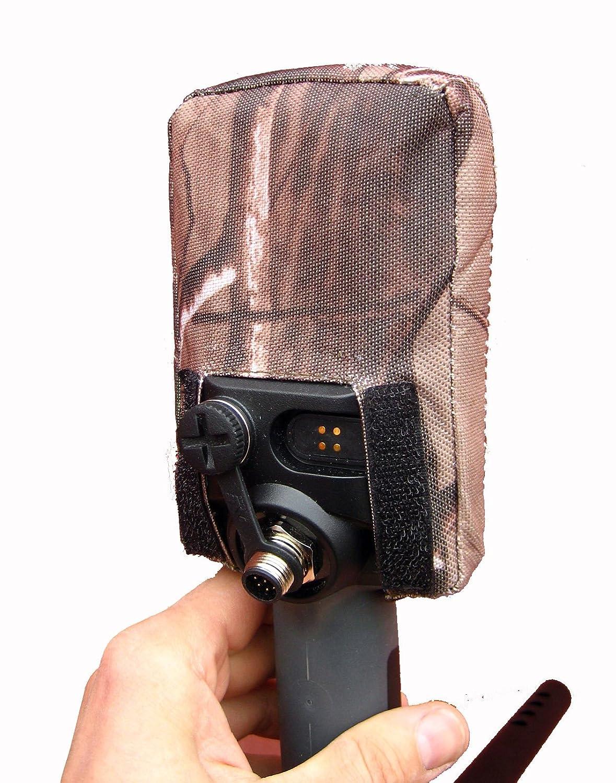 DetectorCovers MINELAB Equinox Detector DE Metal DE LA Cubierta DE LA Caja DE Control (Parte Posterior Abierta para Auriculares), EN 600 Camo Paño DE PVC: ...
