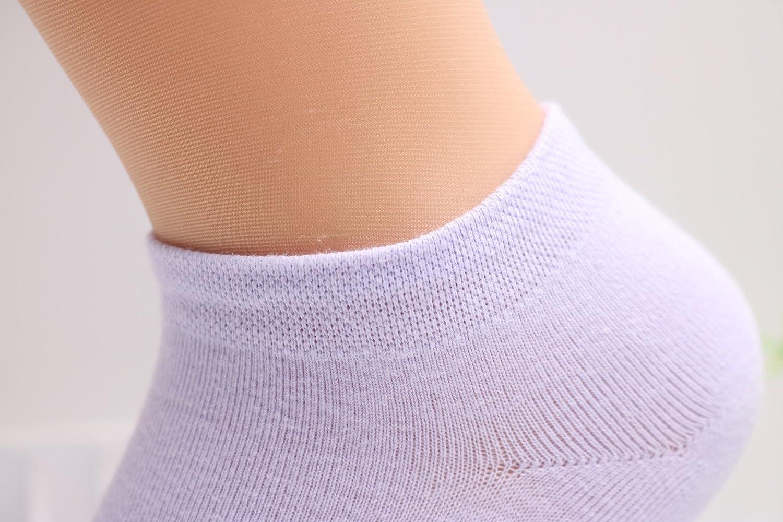DEBAIJIA 8 Pares Calcetines Cortos Calcetines de Tobilleros Barco Casual Para Hombre Mujer Algod/ón Rico Deporte Gimnasio Transpirable Durable C/ómodo