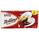 Balconi - Rollino al Cacao Magro, 6 x 37 g - 222 g