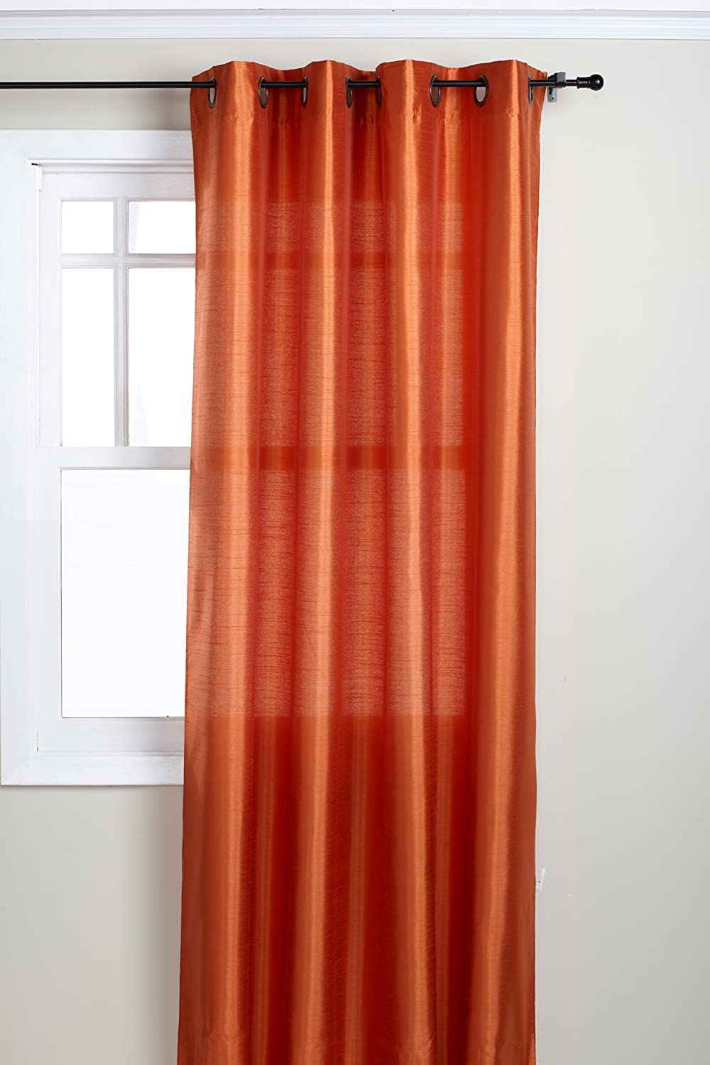 Superior Amazon.com: Stylemaster Tribeca 56 By 84 Inch Faux Silk Grommet Panel,  Mandarin: Home U0026 Kitchen