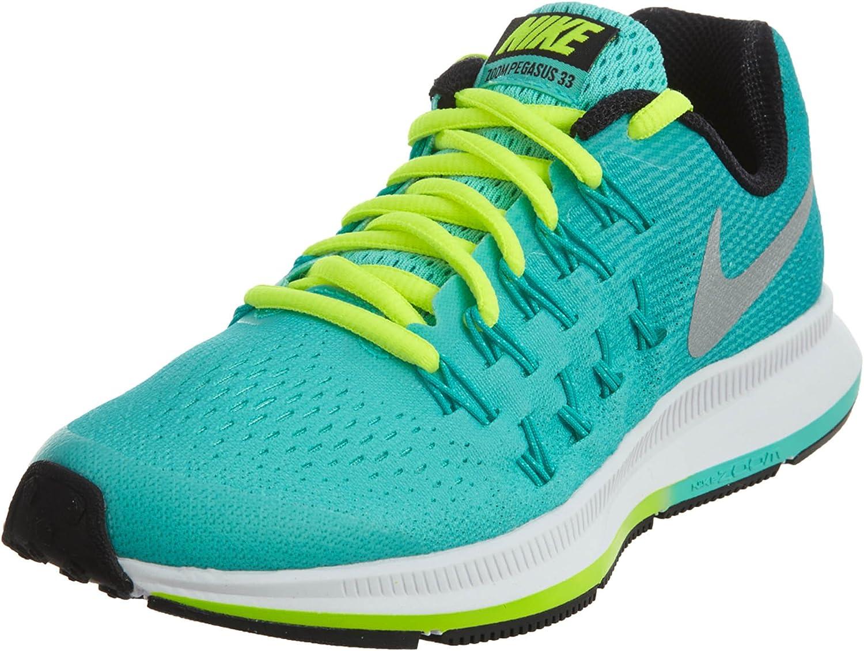 Nike Zoom Pegasus (GS), Zapatillas de Running para Niñas, Turquesa (Hyper Turq/Metallic Silver-Clear Jade), 33 1/2 EU: Amazon.es: Zapatos y complementos