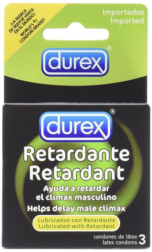 pérdida de erección de condones retardantes