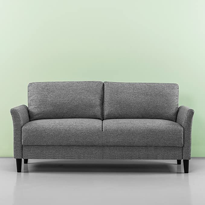 Sensational Zinus Classic Upholstered 71In Sofa Living Room Couch Soft Grey Download Free Architecture Designs Scobabritishbridgeorg