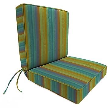 44 Inch X 22 Inch Dining Chair Cushion In Sunbrella Astoria Lagoon