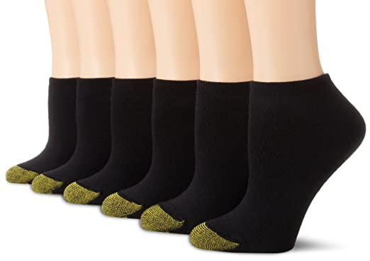 Gold Toe Women S 6 Pack Sport Cushion No Show Sock