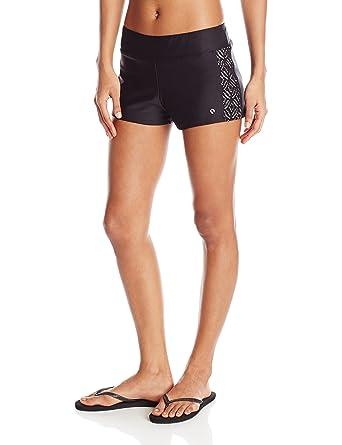 1c979d8edb Next Women's Jump-Start Swim Short, Inner Glow Black, Small at Amazon  Women's Clothing store: