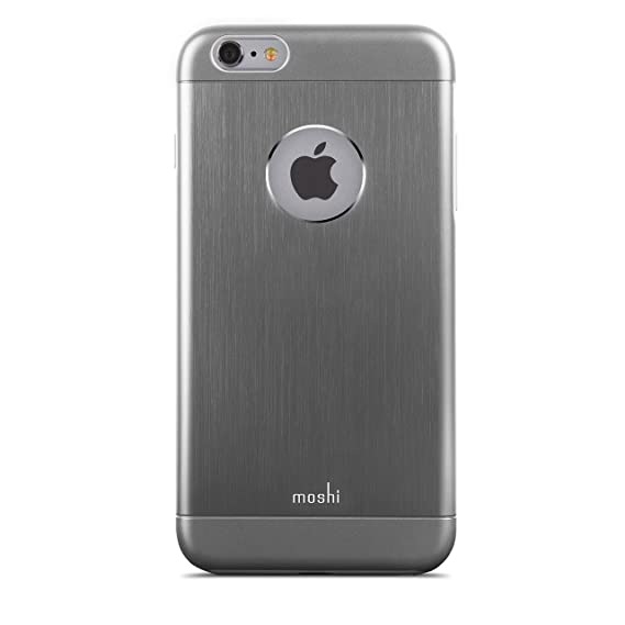 sports shoes 9b3ca 46eed Moshi iGlaze Armour Case for Apple iPhone 6 Plus and 6s Plus - Gunmetal Gray