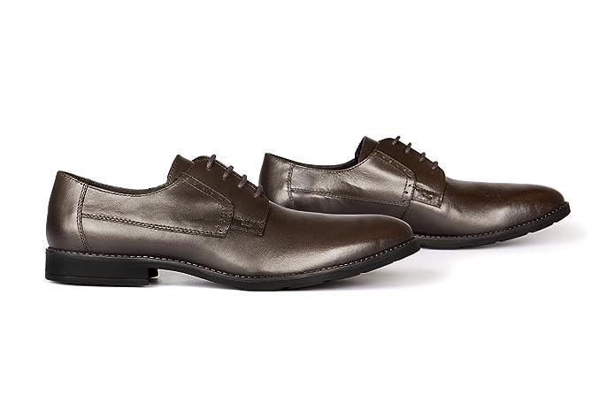 72da863689cab4 VILEANO Herren Business-Schuhe Derby Lederschuhe Anzugschuhe Schuhe ...