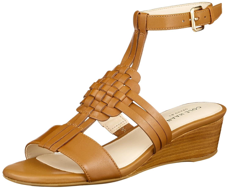 Cole Haan Womens Findra Woven Slide Wedge Sandal B07C32R5LG 11 B(M) US British Tan
