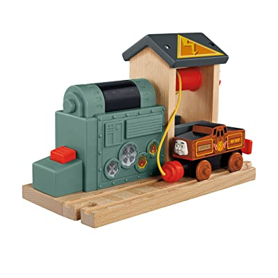 Fisher-Price Thomas & Friends Wooden Railway, Battery Charging Station - Battery Operated: Toys & Games