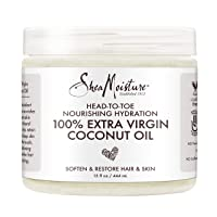 Shea Moisture 100% Extra Virgin Coconut Oil 15 oz