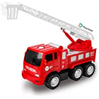 Playhood Inertia (Push Toy) Fire Engine Truck with Extending Rescue Ladder