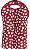 BUILT NY 2 瓶氯丁橡胶*/水瓶手提包,红色五彩纸屑