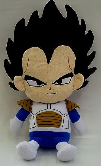 Amazon.com: Dragon Ball Z cojín Reversible peluche Vegeta ...
