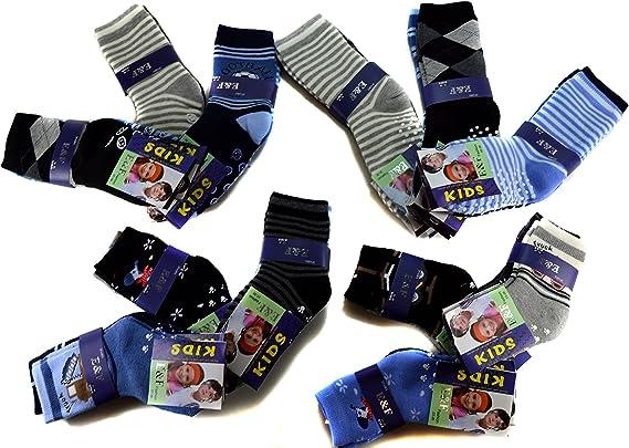 HighClassStyle M/ädchen Thermo Socken Warme Kinder Str/ümpfe 85/% Baumwolle Gr 23-38 Bunt 6 Paar A.TMK02