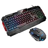 GK806 Wire Keyboard and Mouse Combo - Keyboard
