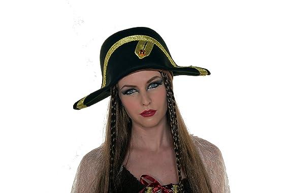 17c36d6b1ed Amazon.com  HalloweenAroundCorner.com Napoleon Bonaparte Party Hat  Clothing