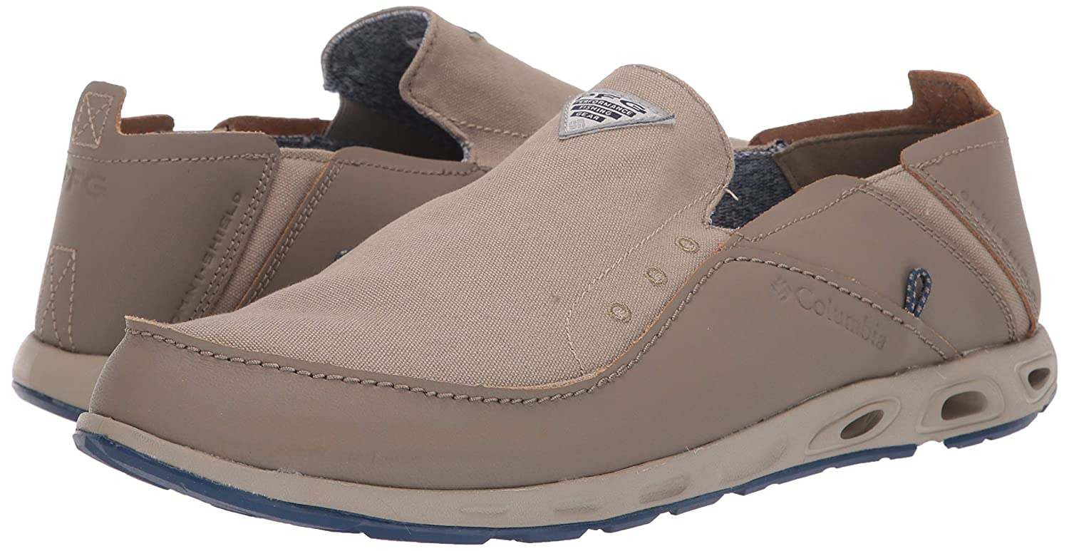 Leather Columbia Sportswear Perfect Cast Casual Boat Shoes 11 11.5 WIDE Width